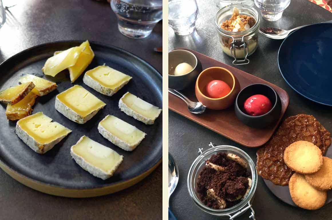Restaurant (V)ivre, Assiette de fromages - Gourmandises