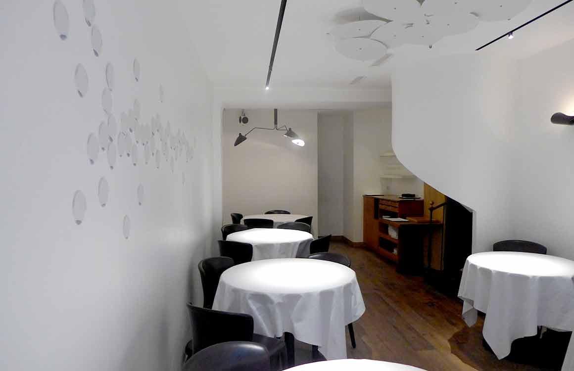 Restaurant La Table du 53, la salle