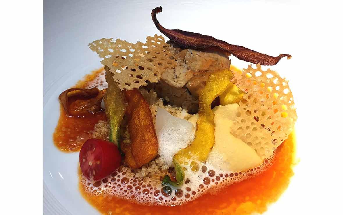 Restaurant La Table du 53, épaule d'agneau en couscous