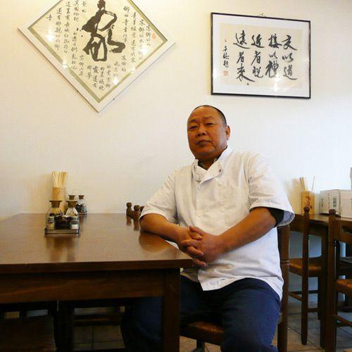 Restaurant Délices de Shan Dong, le patron