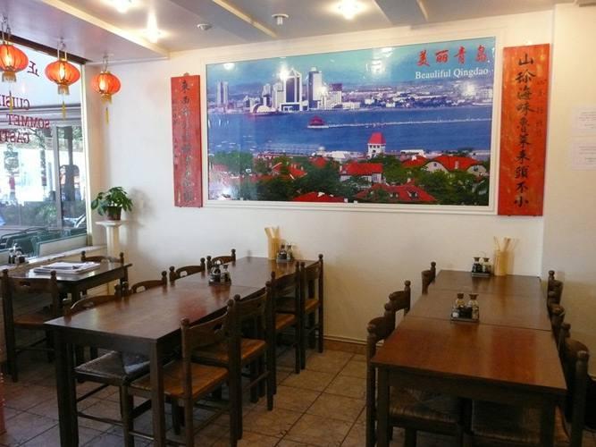 Restaurant Délices de Shan Dong, la salle