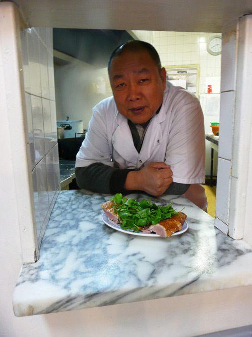 Restaurant Délices de Shan Dong, le chef