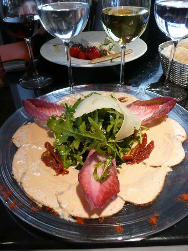 Restaurant Di Vino, Le vitello tonato