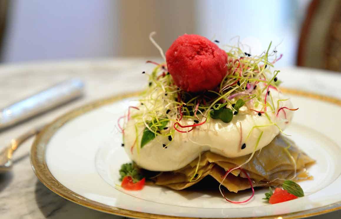 Il Gelato del Marchese, un délicieux plat