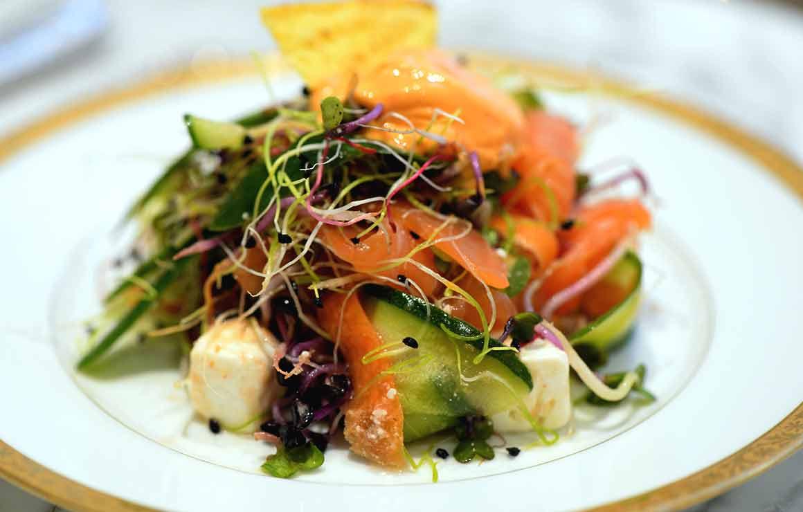 Il Gelato del Marchese, salade composée