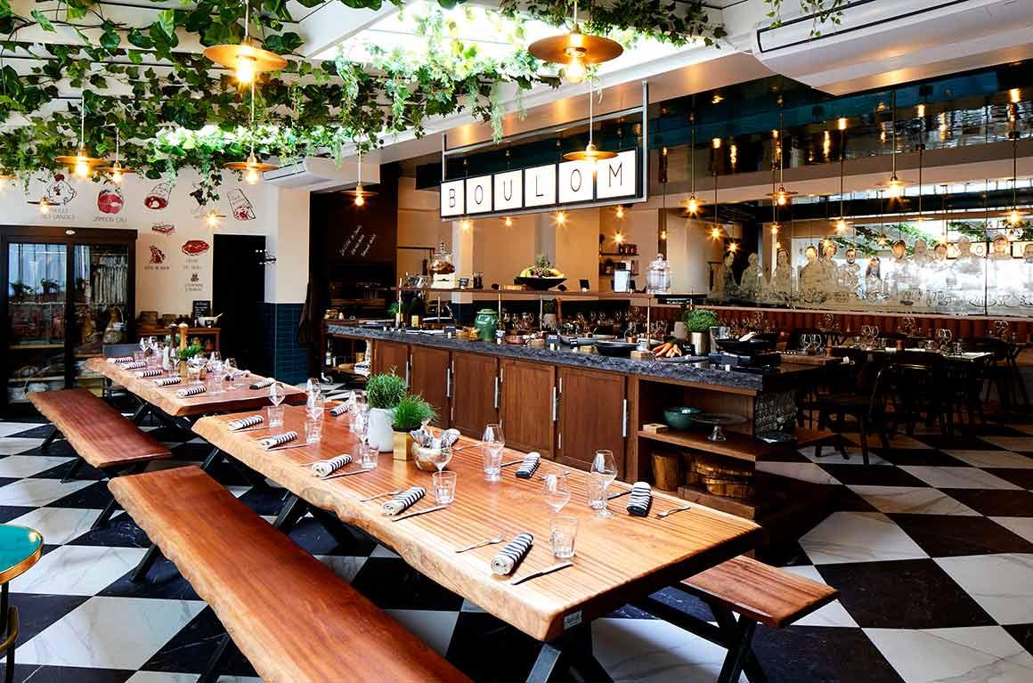 Restaurant Boulom, la salle
