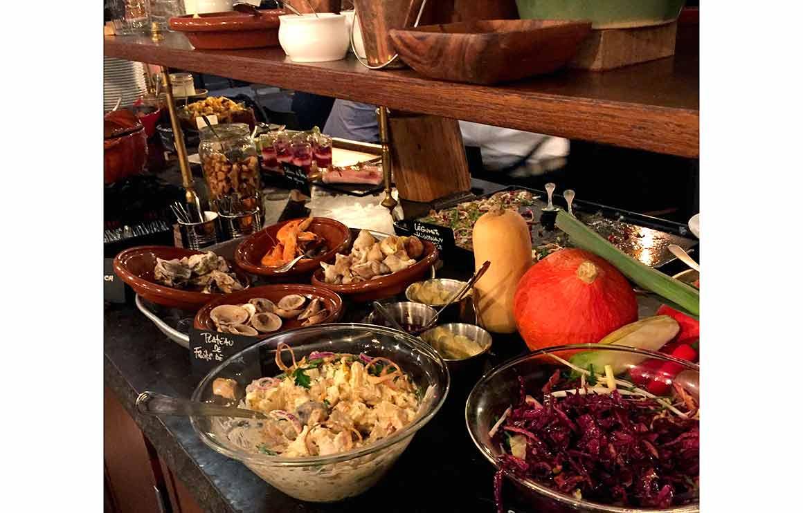 Restaurant Boulom, un buffet