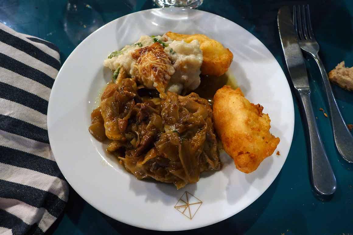 Restaurant Boulom, un plat
