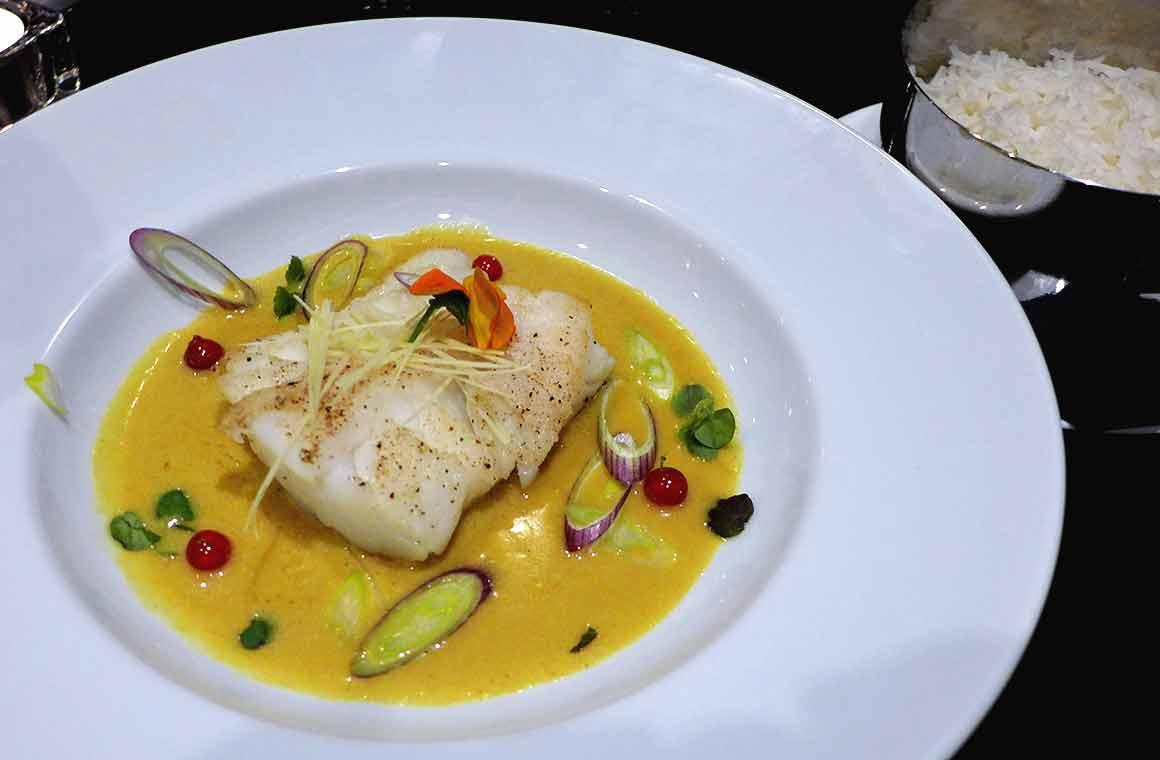 Restaurant Monak, Cabillaud Tom Yam