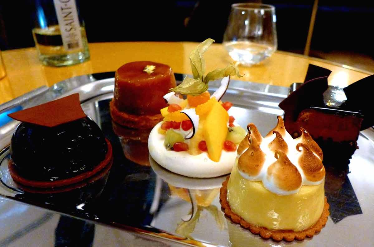 Restaurant Pavillon des Ibis : Pâtisseries maison
