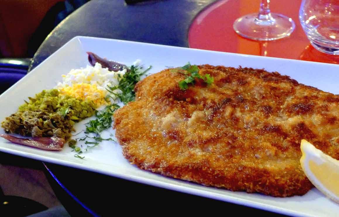 Restaurant MOM, Escalope de veau viennoise