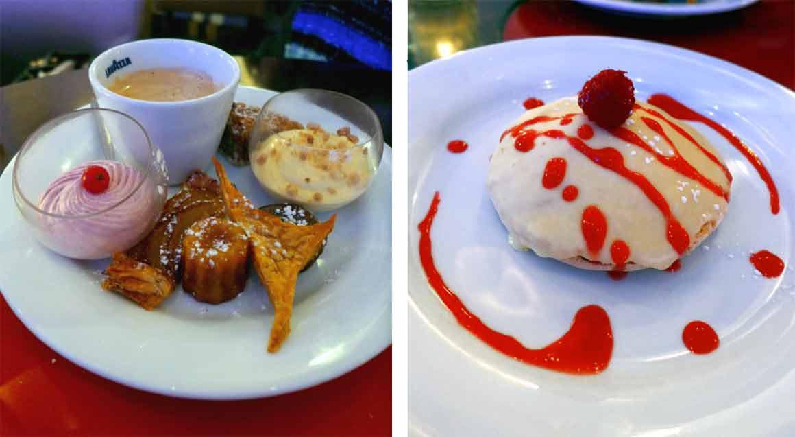 Restaurant MOM, Café gourmand et Coque macaron