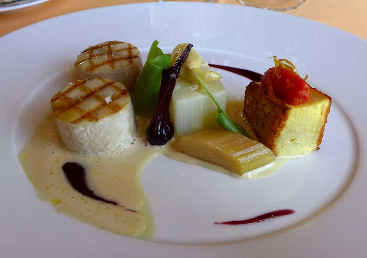 Restaurant Domaine des Hauts de Loire : Alose de Loire