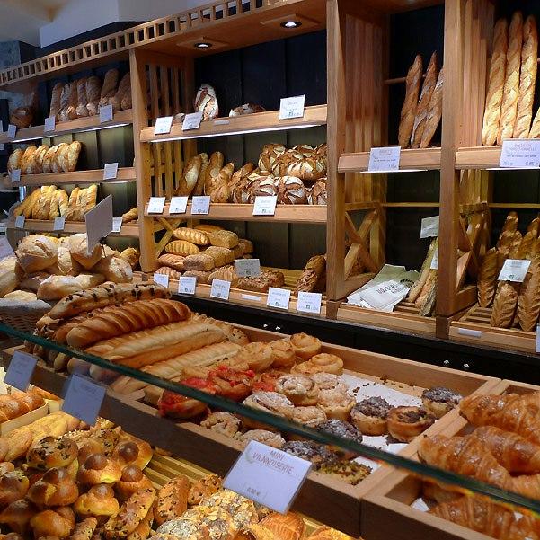 Pâtisserie Dominique Saibron, Le grand choix de pains