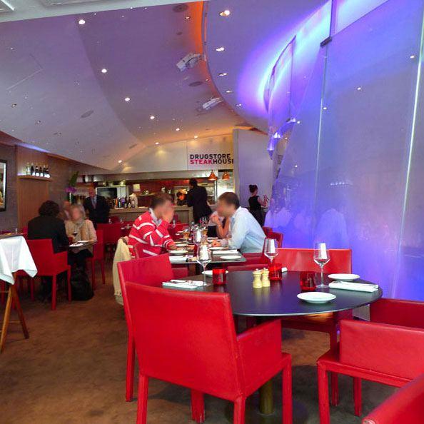 Restaurant Drugstore Steakhouse Publicis : La salle