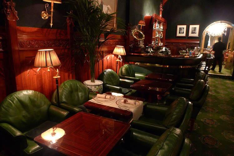 Le Duke Bar, la vue