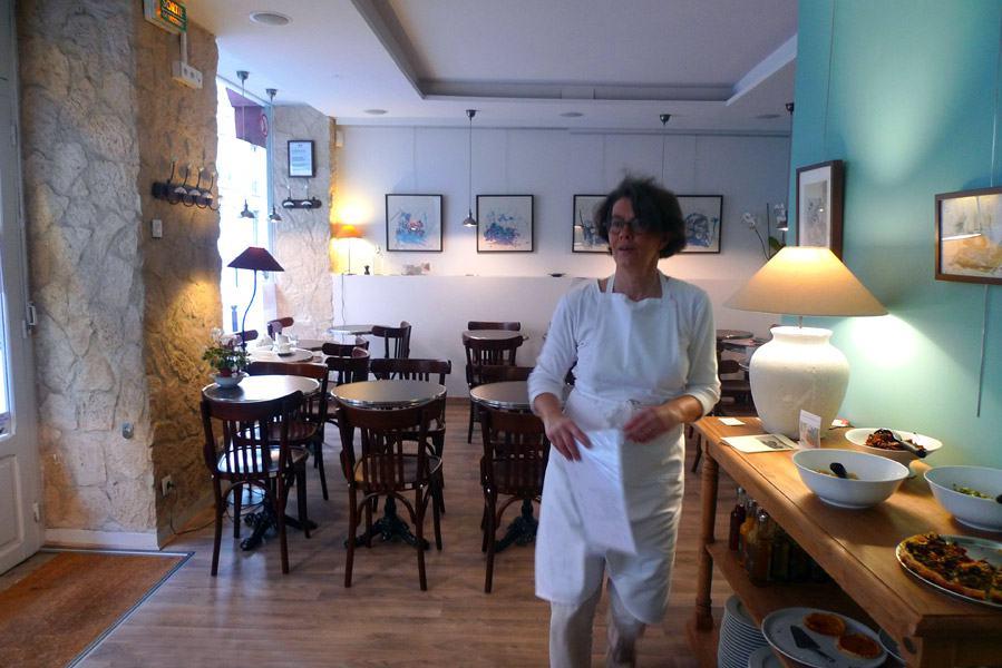 Restaurant Eh Oui, la salle