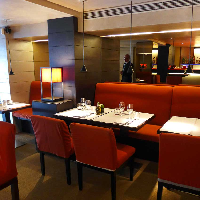 Restaurant Emporio Armani Caffè : La salle