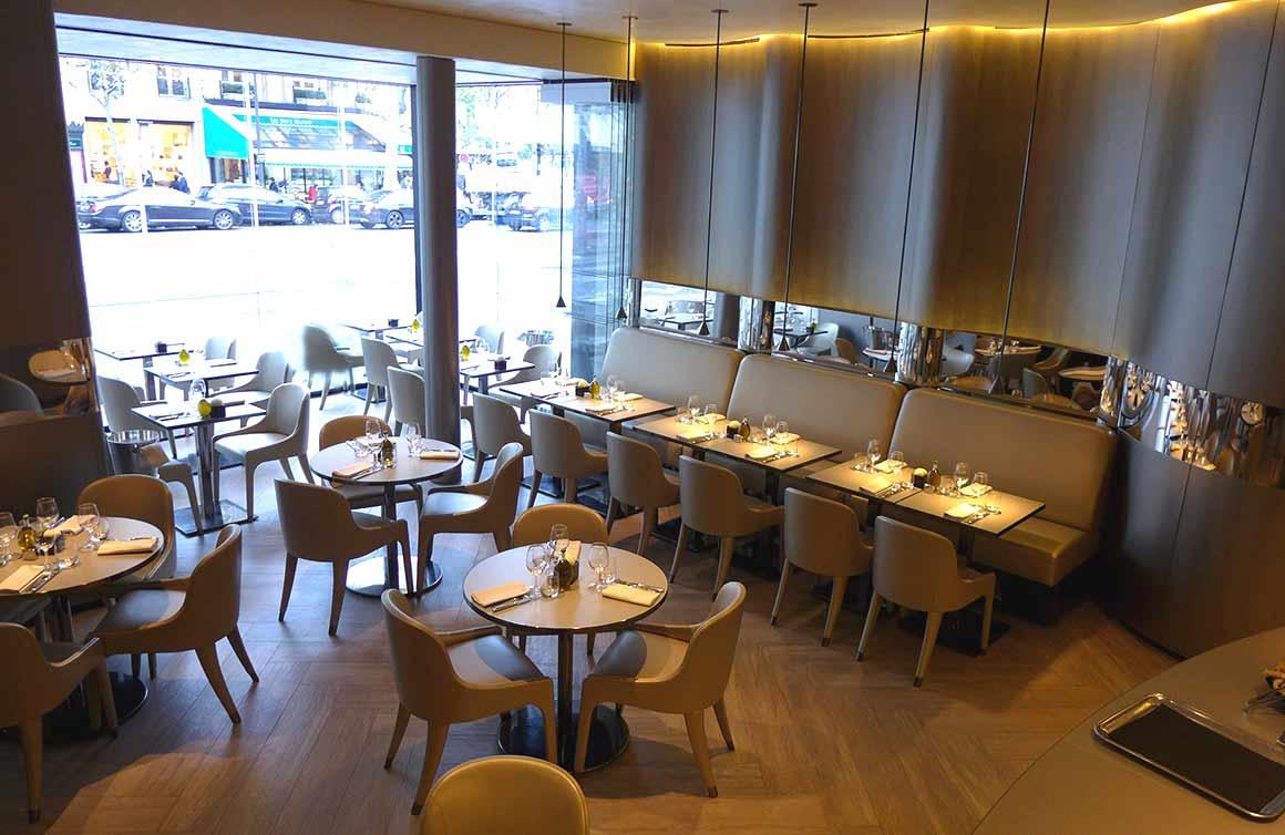 Restaurant Emporio Armani Caffe : La salle