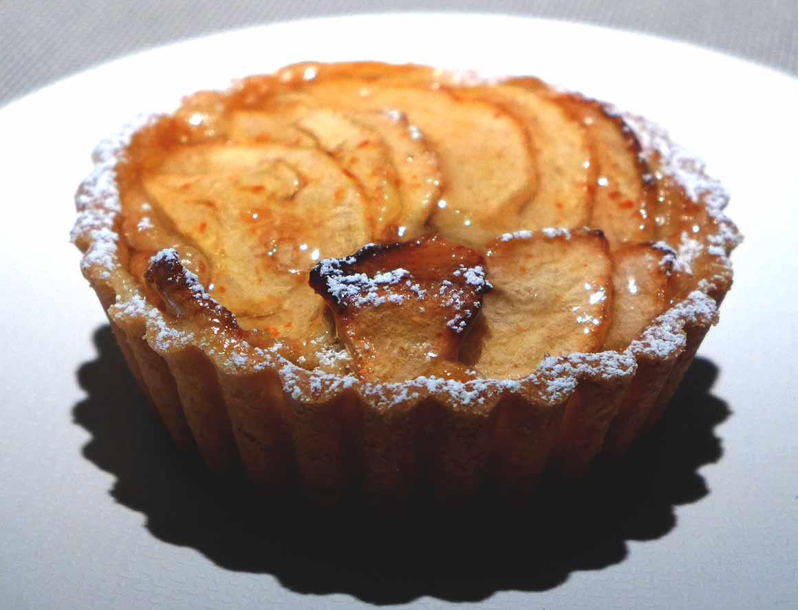Restaurant Emporio Armani Caffe : Tarte aux pommes