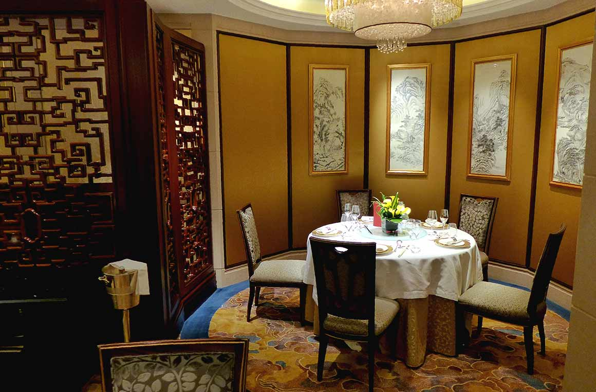 Restaurant Shang Palace : La salle