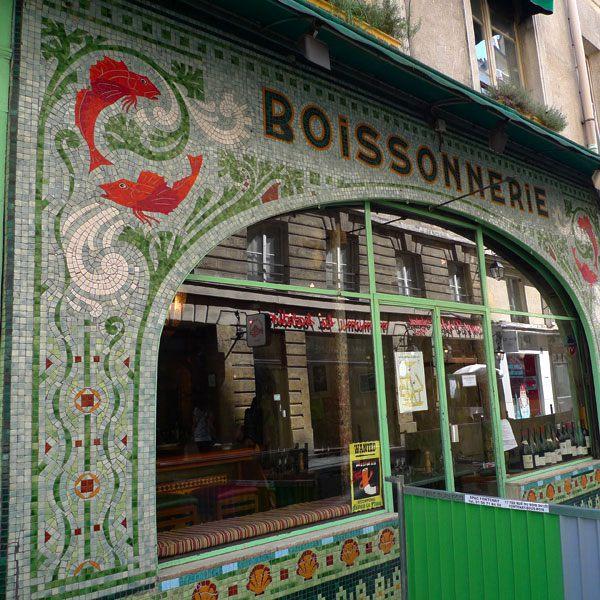 Restaurant Fish La Boissonnerie, superbe devanture