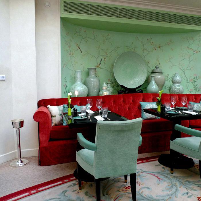 La salle du restaurant LA BAUHINIA