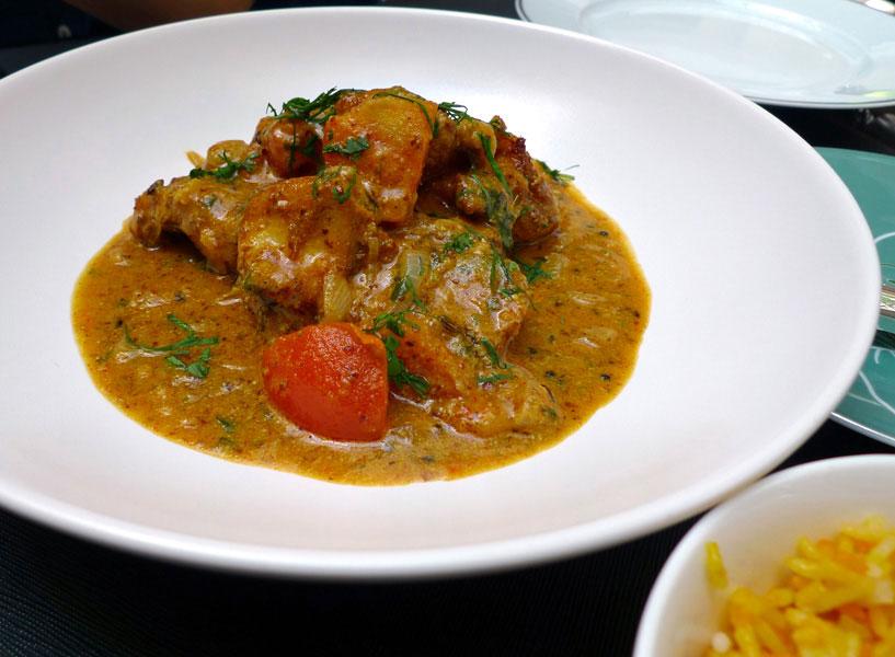 Restaurant LA BAUHINIA, Pagre mariné au gingembre