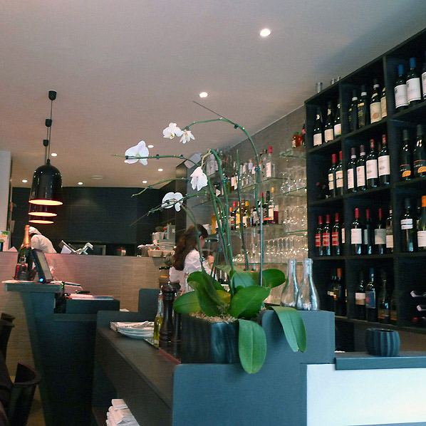 Restaurant Genio, la salle