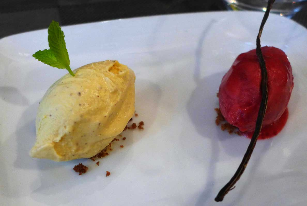 Restaurant Geoffroy L'Olive, glaces