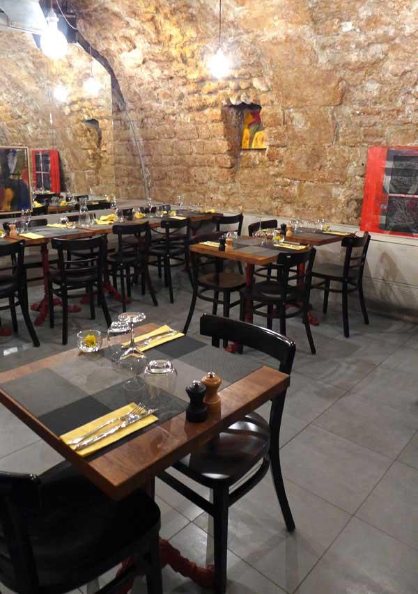 Restaurant Geoffroy L'Olive, la salle