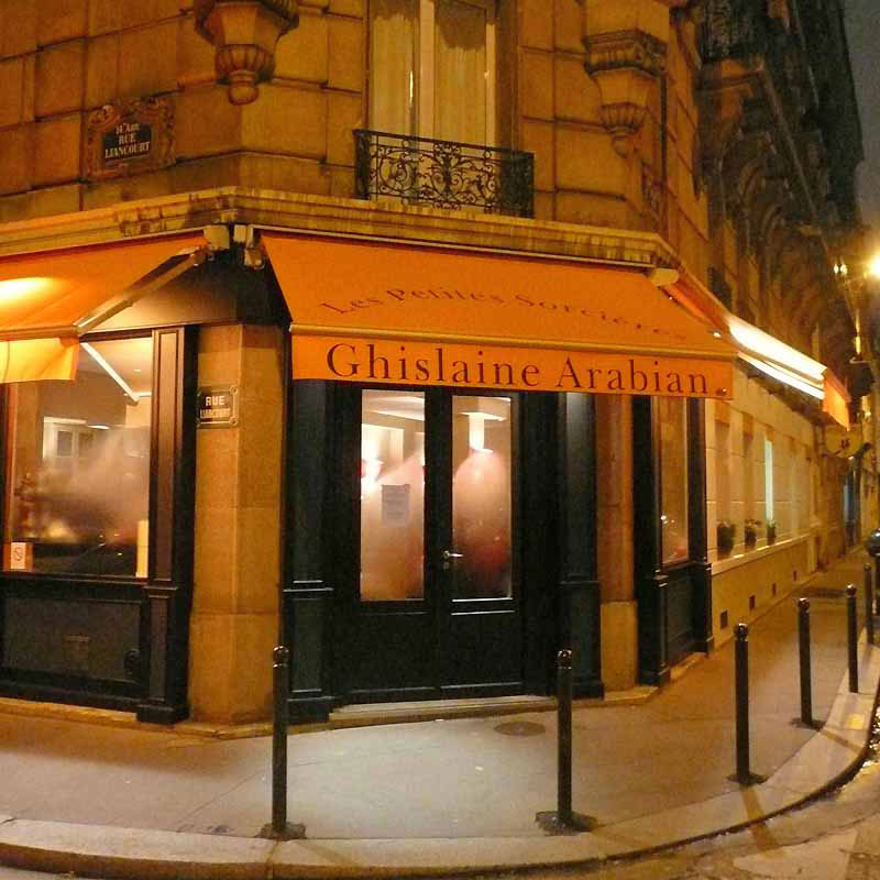 Restaurant Les Petites Sorcières, Le restaurant