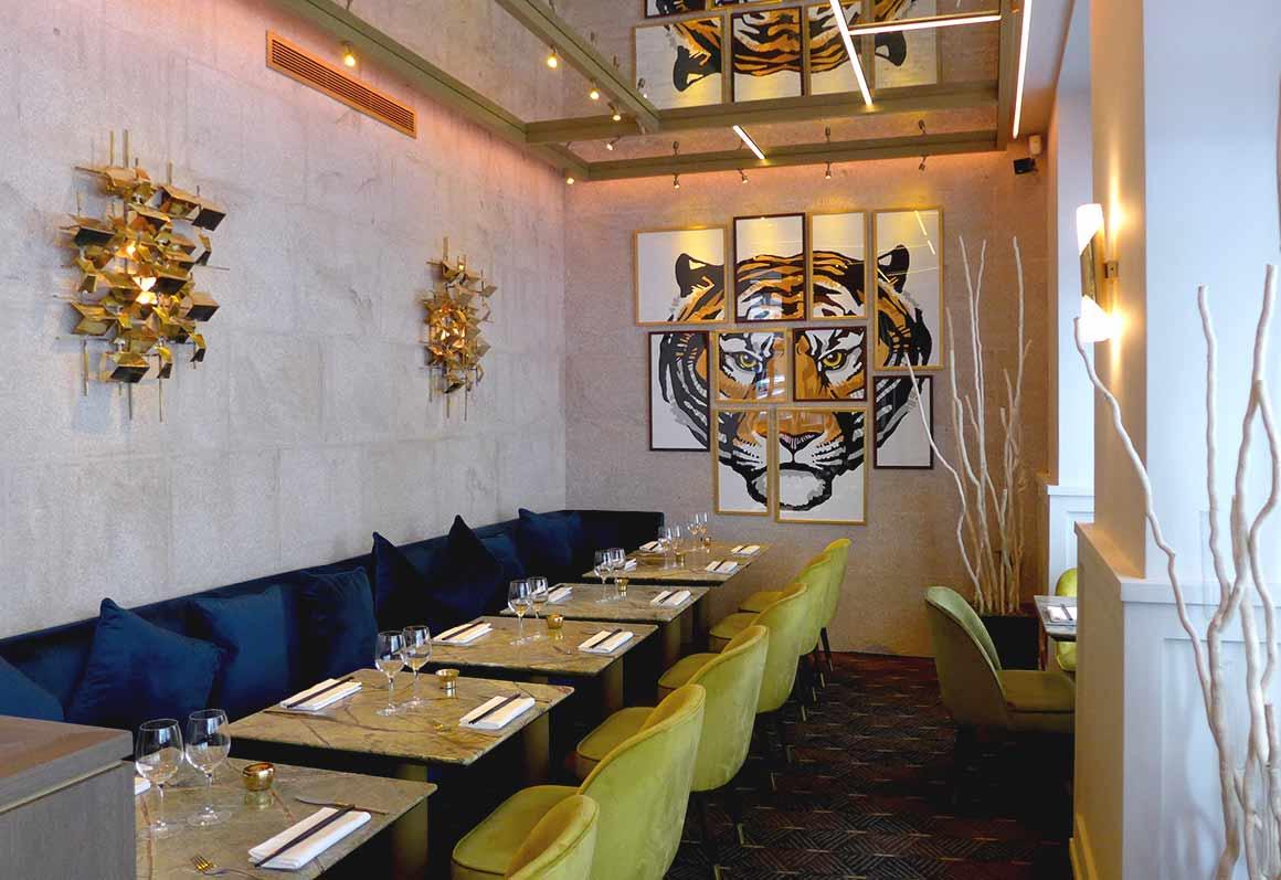 Restaurant Ginger, La salle