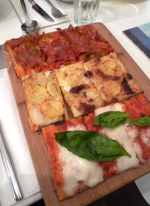Restaurant Gino & Rita pizzas