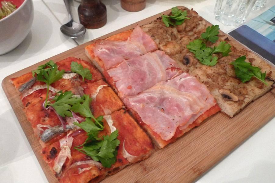 Restaurant Gino & Rita pizzas à la coupe