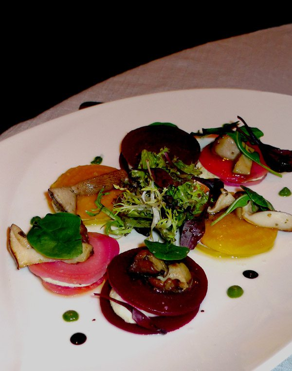 Restaurant Maurizio Carlucci : Betterave en couleur