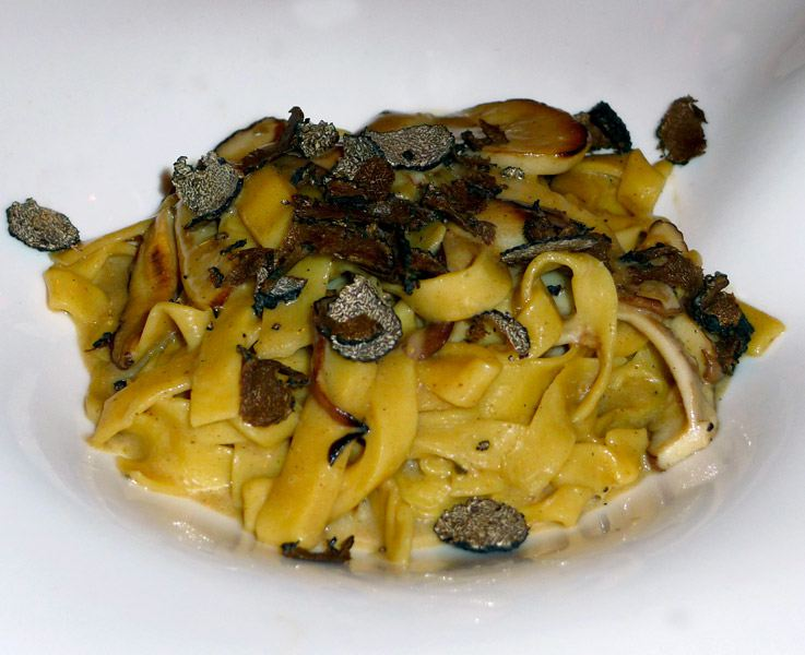 Restaurant Maurizio Carlucci : Tagliatelle aux cèpes et truffe noire