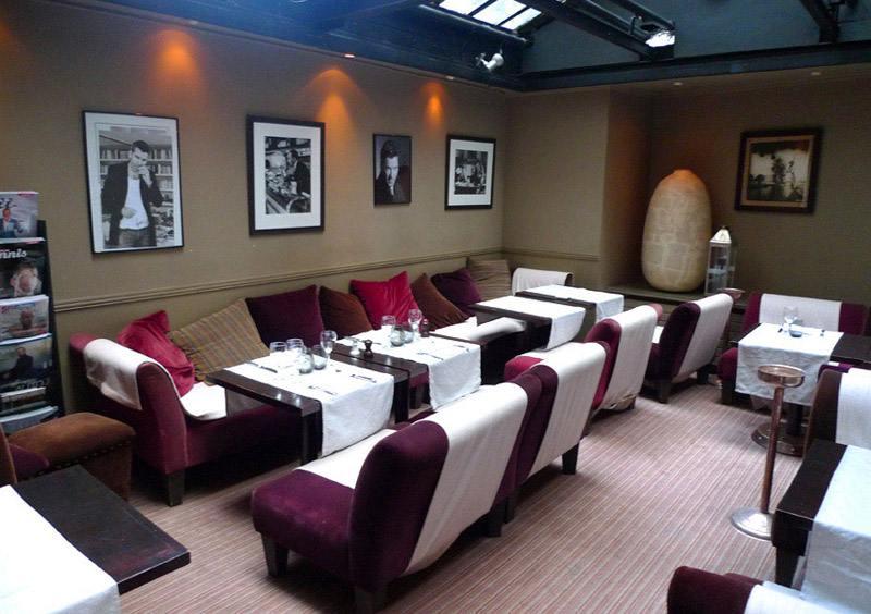 Restaurant Maurizio Carlucci : La salle