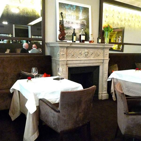 Restaurant Goust, la salle