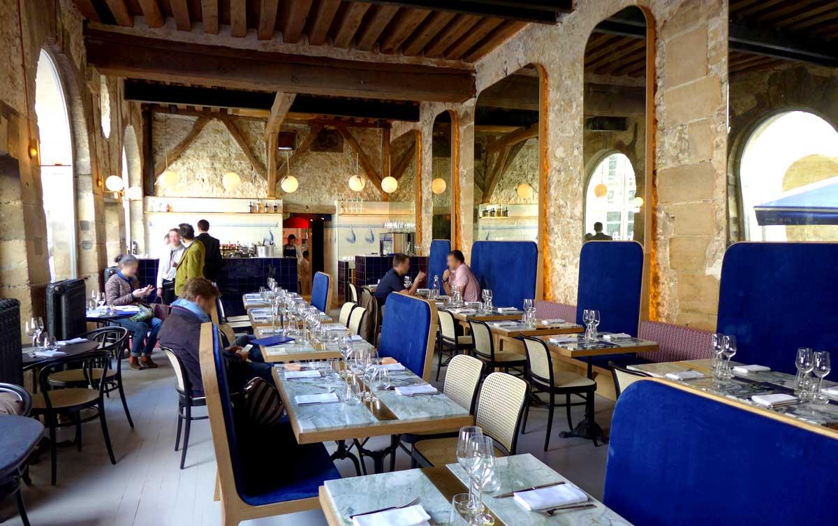 Restaurant Grand Coeur : La salle