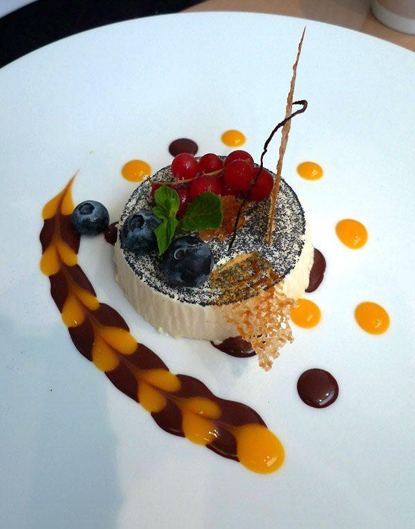 Restaurant Guy Martin Italia : Panna cotta mangue vanille