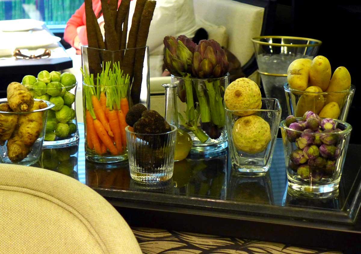 Restaurant HEXAGONE : Les produits de saison