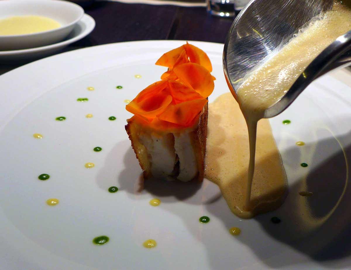 Restaurant HEXAGONE : Dos de sole viennoise