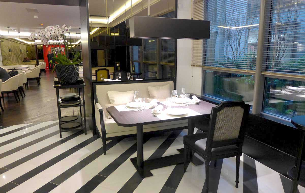 Restaurant HEXAGONE : La salle du restaurant