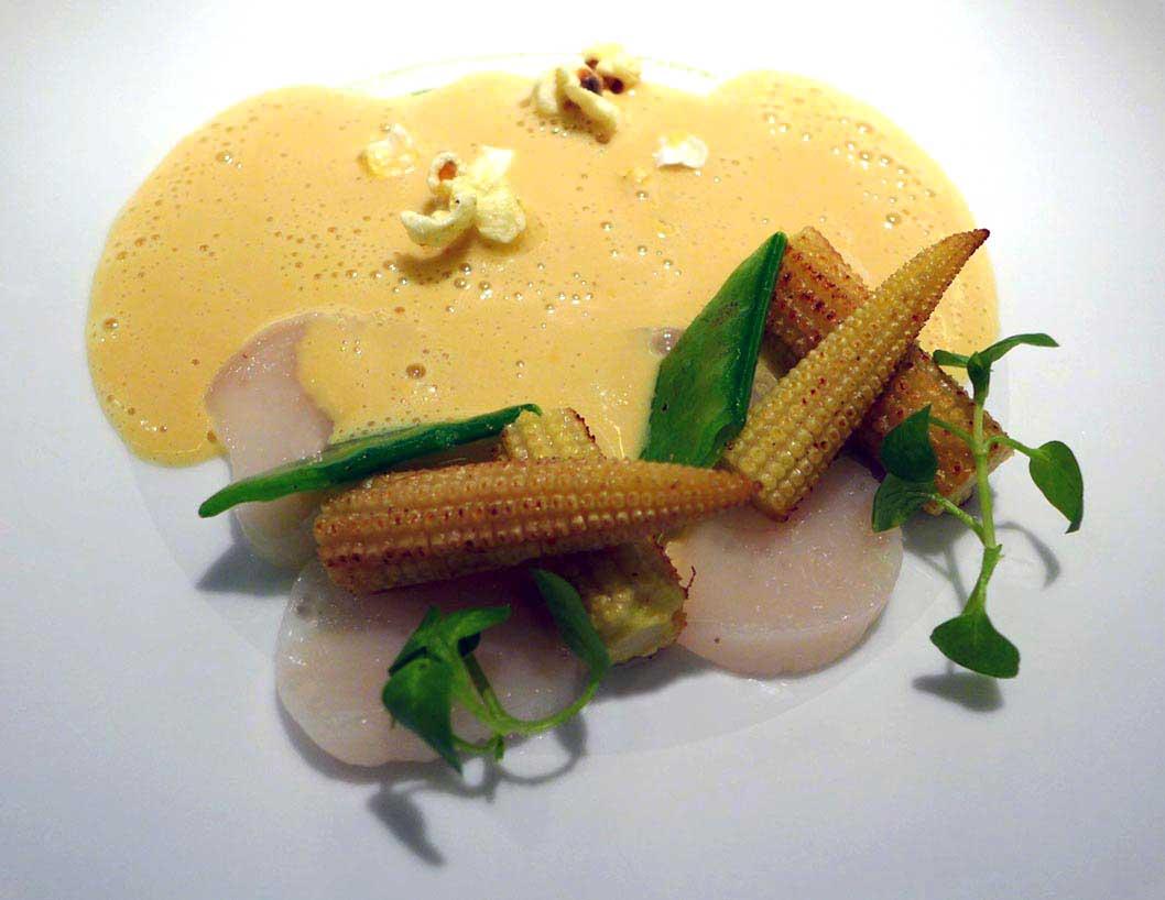 Restaurant HEXAGONE : Carpaccio de Saint-Jacques