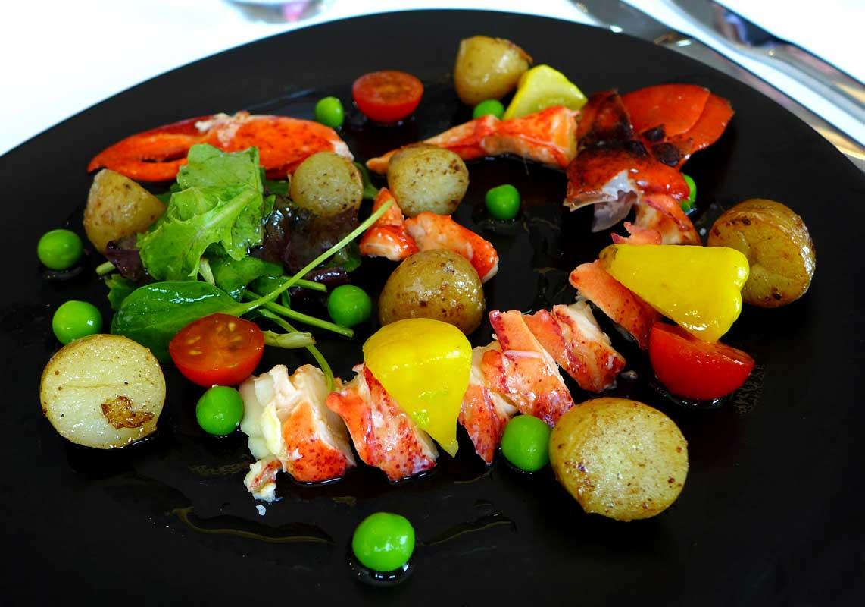 Restaurant Le H : Salade de homard
