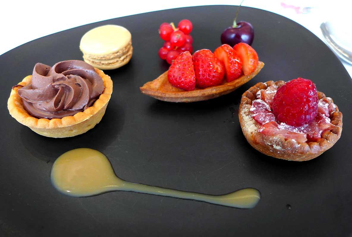 Restaurant Le H : Sélection du chef pâtissier