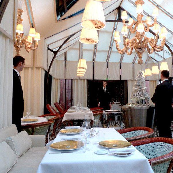 Restaurant Il Carpaccio, la salle