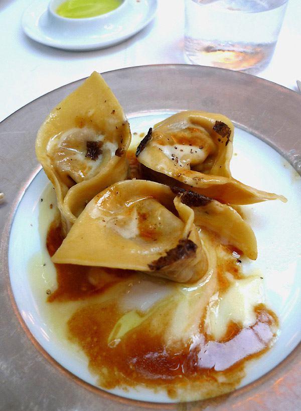 Restaurant Il Carpaccio, tortelli de boeuf
