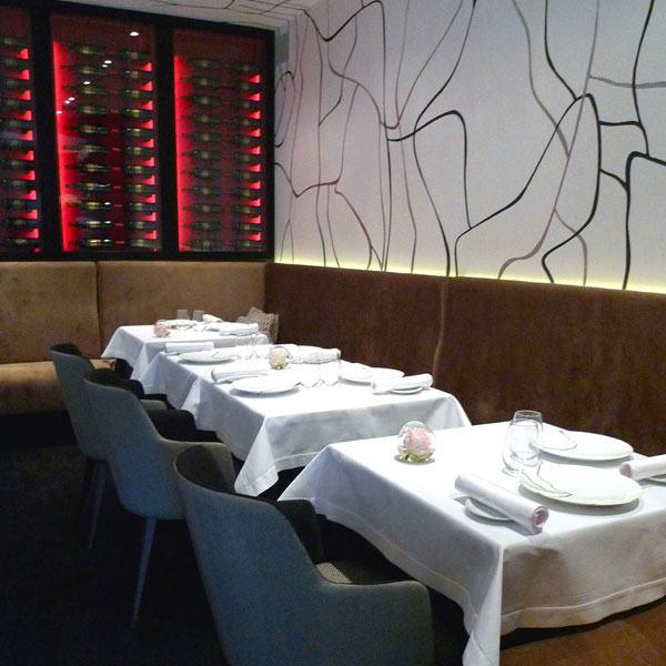 Restaurant Il Vino, la salle